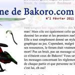 Bakoro – Un jeu, un magazine