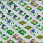 Mon Resto : la map de la ville