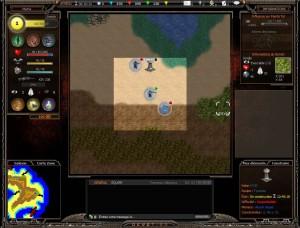 Dévotion : interface de jeu